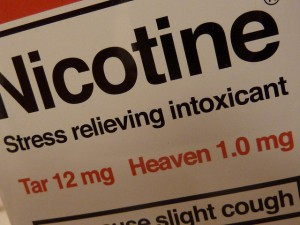 Nicotine Label