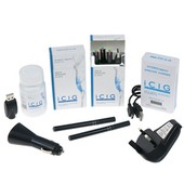 Black Electronic Cigarette - i400